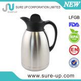 Kleur die de VacuümKruik van de Koffie van de Fles met een laag bedekt met de Kurk van de Schroef (JSBZ)
