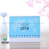 2018 calendari di scrittorio di stampa dell'ultimo documento/regalo di promozione