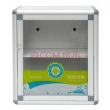 Kleiner Aluminium-Erste HILFEen-Kasten mit an der Wand befestigter Funktion
