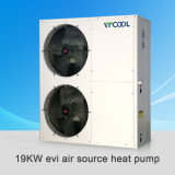 Pompa termica centrale dell'acqua dell'aria del riscaldamento dell'acqua Evi per il riscaldamento della Camera ed il condizionamento d'aria, pompa termica di sorgente di aria di Evi