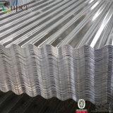 Tôle d'acier ondulée enduite galvanisée de zinc pour la toiture