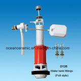Montaggi della cisterna D126, accessori della toletta, montaggi del serbatoio della toletta, Sanitaria