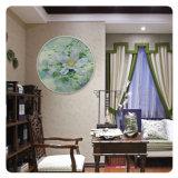 HD abstrakte Blumen-Ölgemälde-Segeltuch-Wand-Kunst-Abbildung für Hotel