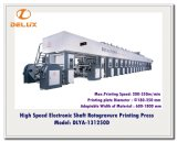 Eixo eletrônico, auto imprensa de impressão de alta velocidade do Rotogravure (DLYA-131250D)