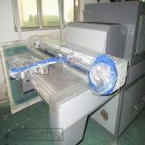Tela de serigrafia máquina de impressão com secador de UV e Braço do Robô