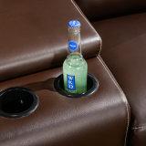 컵 홀더와 저장 상자를 가진 가정 극장 영화관 Recliner 의자