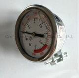 ホールダーのタイプの圧力計が付いているステンレス鋼ハウジング