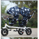 신식을%s 가진 판매를 위한 쉬운 접히는 아이 쌍둥이 세발자전거