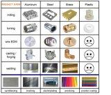 Fazer à máquina de alumínio do CNC do modelo 6061 da peça da peça do equipamento médico