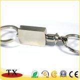 Anello chiave di alta qualità su ordinazione del metallo