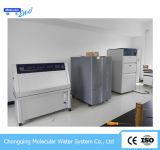 10lph実験装置のRO/Diによって脱イオンされる給水系統