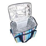 Comercio al por mayor 600d papel de aluminio térmico aislado de la comida de la bolsa de refrigerador