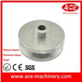アルミニウムモーターベルトプーリー、CNCの機械化の部品