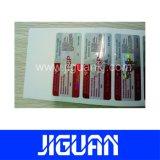 安い価格別のカラー習慣10mlのホログラフィックガラスびんのラベル