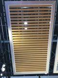 Plafond de la rainure métallique carré en aluminium Panneau de Plafond Plafond Supsended du déflecteur de plafond