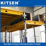 平板の具体的な注ぐことのためのアルミニウム型枠システム