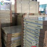 Изготовление панели изоляции полиуретана холодной комнаты в Китае