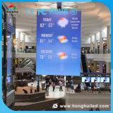 디지털 발광 다이오드 표시를 광고하는 옥외 HD P4.81