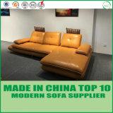 Sofa moderne italien de cuir de meubles de salle de séjour