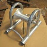 Rotella di alluminio del rullo del cavo del ponticello