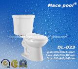 목욕탕을%s 2 조각 수세식 변소 위생 상품은 놓았다 (DL-023)