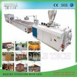 China-Großhandelspreisplastik-PVC/PE/PP+ hölzerner (WPC) zusammengesetzter Decking, Fußboden, Zaun-Vorstand-Profil-Strangpresßling-Hersteller