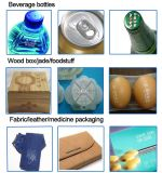 precio de fábrica Portable marcadora láser de CO2 de madera de plástico