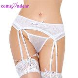 ODM на складе женщин Sexy оптовые цены плюс размер ремня Garter белого цвета