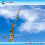 건축 사이트에서 사용되는 Qtz60 (TC5013) 탑 기중기