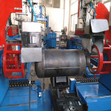 3部分の自動ガスポンプの生産ラインのための円周のシーム溶接機械