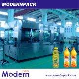 El jugo de fruta de la tríada de llenado de bebidas Línea de producción/máquinas de llenado