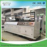 Plastik-PVC/PE/PP+ hölzerner (WPC) zusammengesetzter Decking, Fußboden, Zaun-Vorstand-Profil-Strangpresßling/Extruder, der Maschinerie herstellt