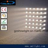 段階軽いDMX512制御ビーム効果ピクセル金LED 6 6つのマトリックスの照明