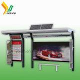 Gare routière extérieure de fonction d'affichage vidéo annonçant l'Afficheur LED