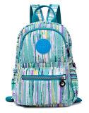 Novo Estilo de moda de cores misturadas com saco de ombro com Duplo Lazer tecido impermeável de Nylon mochila escolar (4) Zh-Bbk104