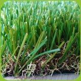 Сад ландшафт искусственном газоне травы для использования внутри и вне помещений