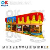 Настроенные детей игровая площадка для установки внутри помещений в коммерческих целях оборудования