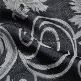 Tinte de hilados de jacquard 100% poliéster Tela Tela de cortina