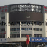 Kurve P8 kreisförmige im Freienled-Bildschirmanzeige für Reklameanzeige und Einkaufszentrum