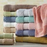 速い乾燥したタケファイバー/綿の表面/手/浴室タオル