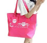 El saco impermeable de la cremallera del totalizador de las compras del bolso de las mujeres que hace compras una playa principal de señora Casual Purse Oxford empaqueta Bolsas Feminina