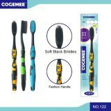 Toothbrush adulto com as cerdas macias 122 do preto