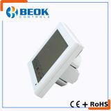 Termostato della stanza della bobina del ventilatore del condizionamento d'aria di alta qualità con il grande schermo di tocco