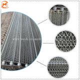 Цепь из нержавеющей стали металлической проволоки сетка ленты конвейера для печи