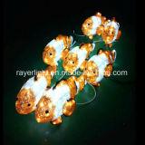 Neue Weihnachtsdekoration der LED-Fisch-Verzierung-LED für Park-Dekoration