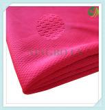 De nieuwe Stof van het Kledingstuk van de Polyester van 100% Breiende