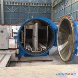 2000x3000mm certificación ASME calefacción eléctrica de la seguridad de cristal antibalas autoclave