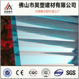 PC ondulé Awnig de feuille de feuille de polycarbonate de PC de Mutilwall de feuille de Pcembossed de PC creux solide de feuille