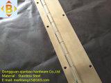 Шарнир рояля шарнира нержавеющей стали или утюга длинний непрерывный