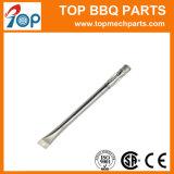 Redondo de acero inoxidable personalizada Gas Barbacoa Grill Quemador de tubo